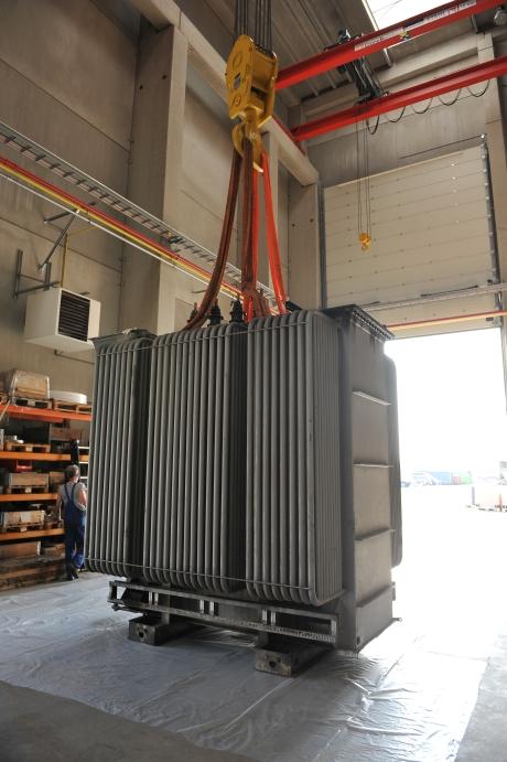 Transformatoren Maintenance Partners - Reparaties in Werkplaats 460