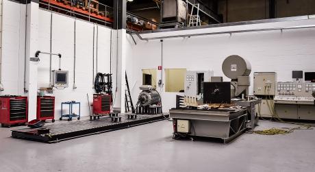 Maintenance Partners Teststand Electro Motoren 460