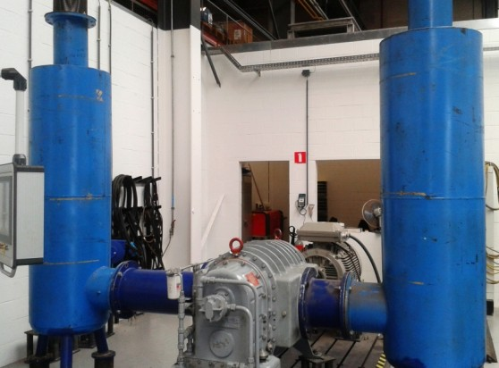 Maintenance Partners Testing of Roots Blowers and High Vacuum Boosters (HVB) 920