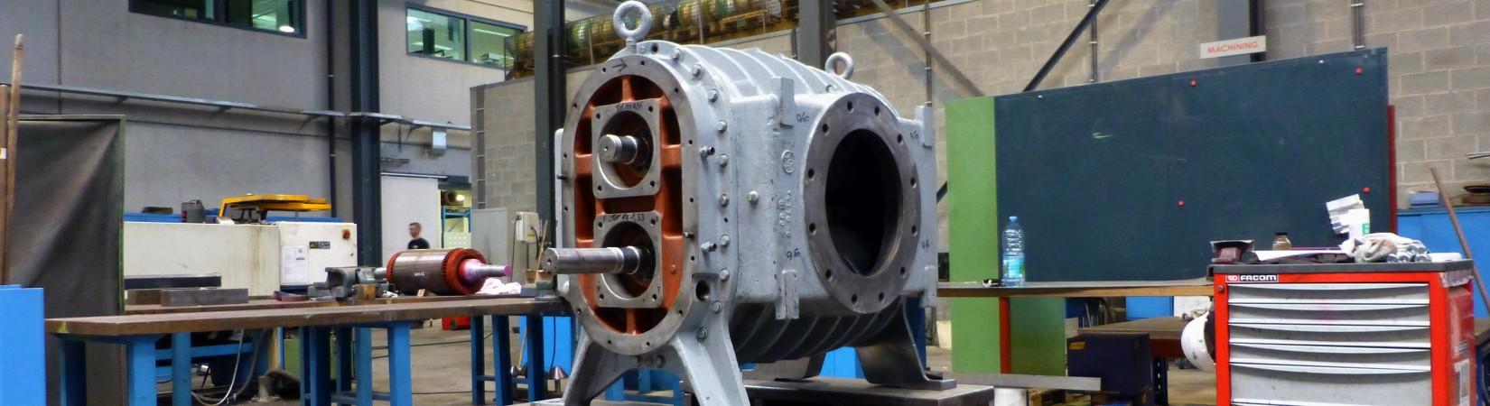 Maintenance and repairs of blowers | Aerzen, Dresser-Rand, Ebara